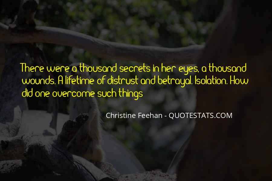 Quotes About Eyes And Secrets #1127800