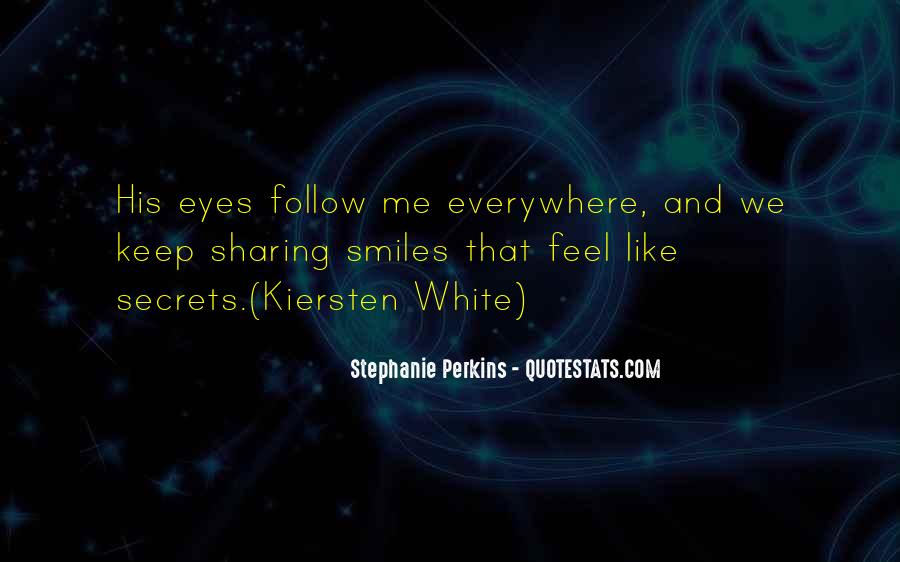 Quotes About Eyes And Secrets #578168