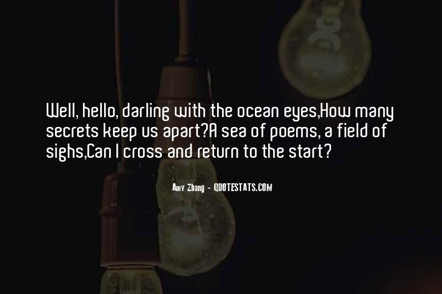 Quotes About Eyes And Secrets #988979