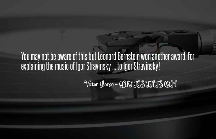 Stravinsky's Quotes #1063369