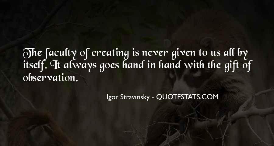 Stravinsky's Quotes #1065133
