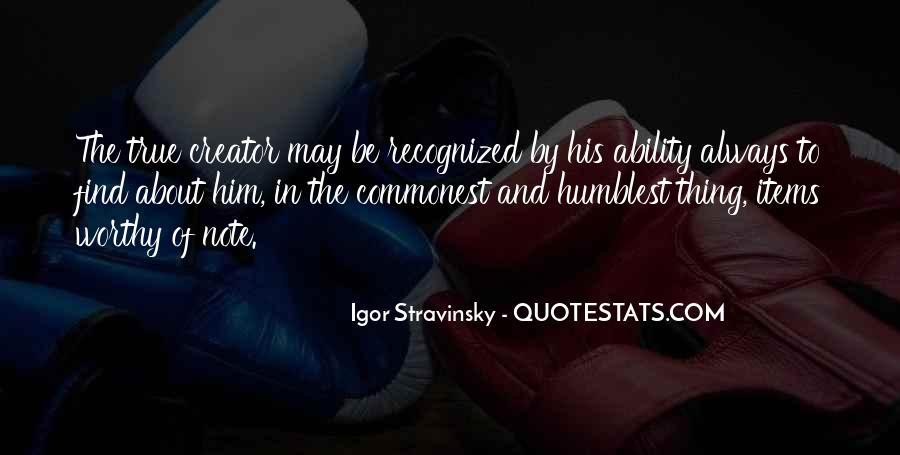 Stravinsky's Quotes #1143749