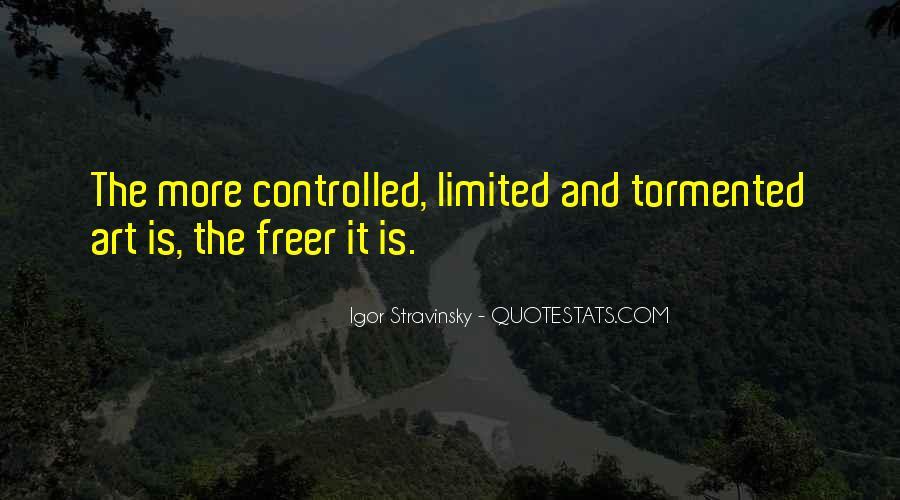 Stravinsky's Quotes #1504742
