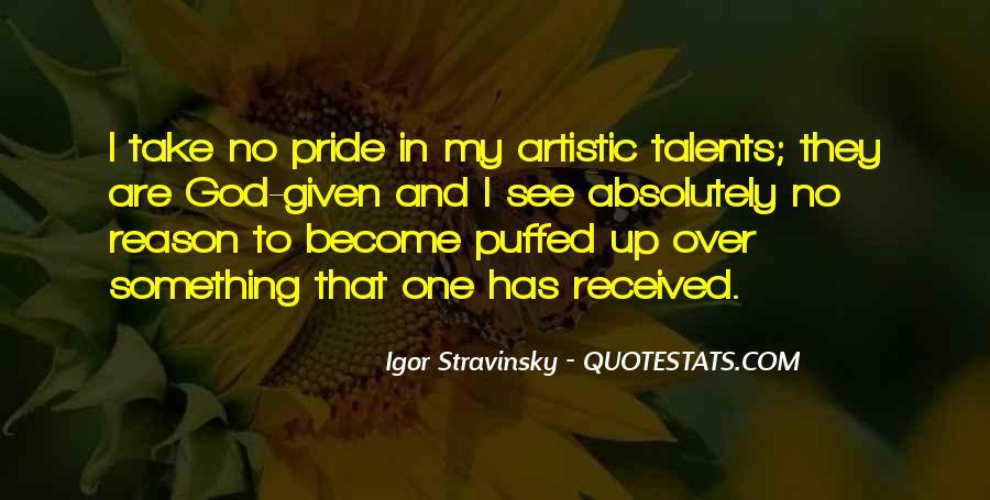 Stravinsky's Quotes #232510