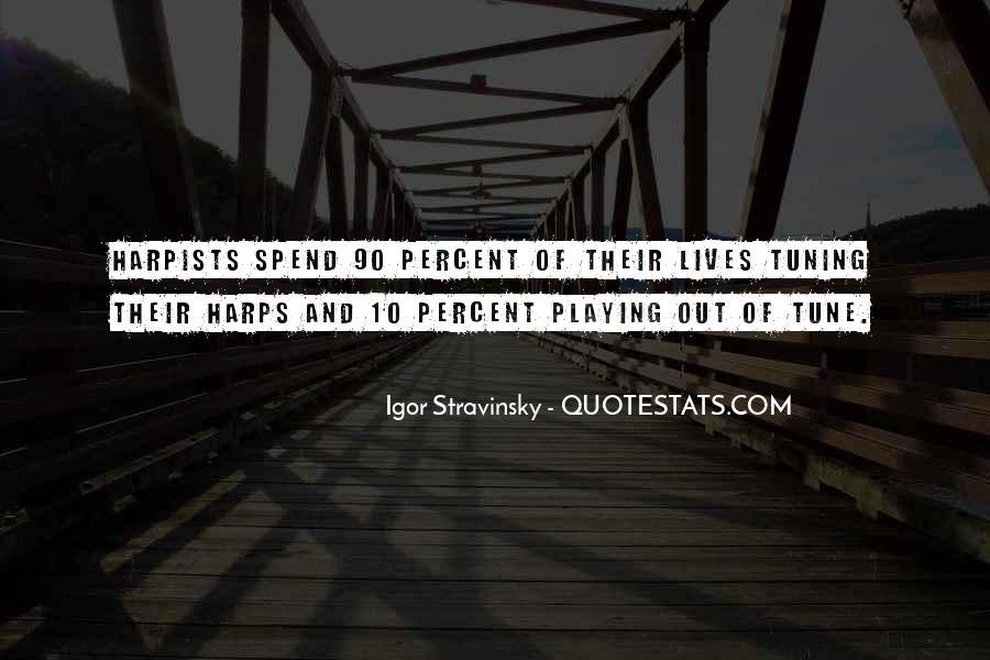 Stravinsky's Quotes #347419