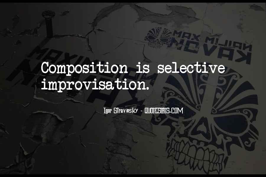 Stravinsky's Quotes #41713