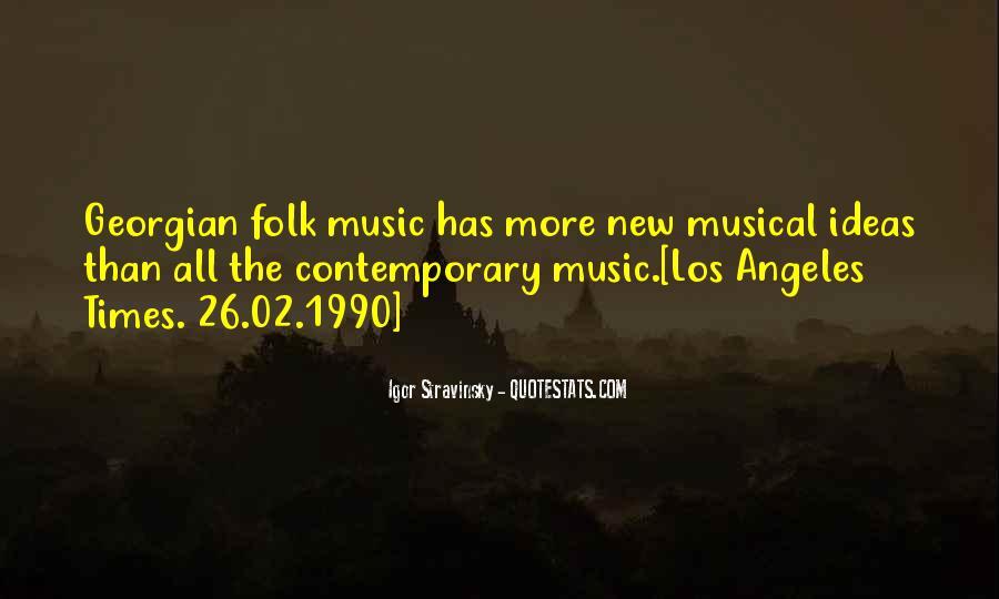 Stravinsky's Quotes #489288