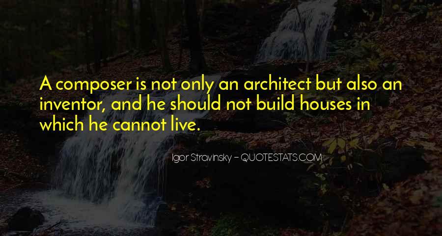 Stravinsky's Quotes #491566