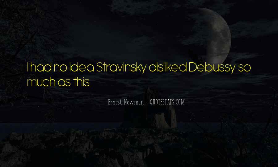Stravinsky's Quotes #604360