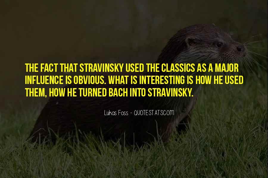 Stravinsky's Quotes #704982