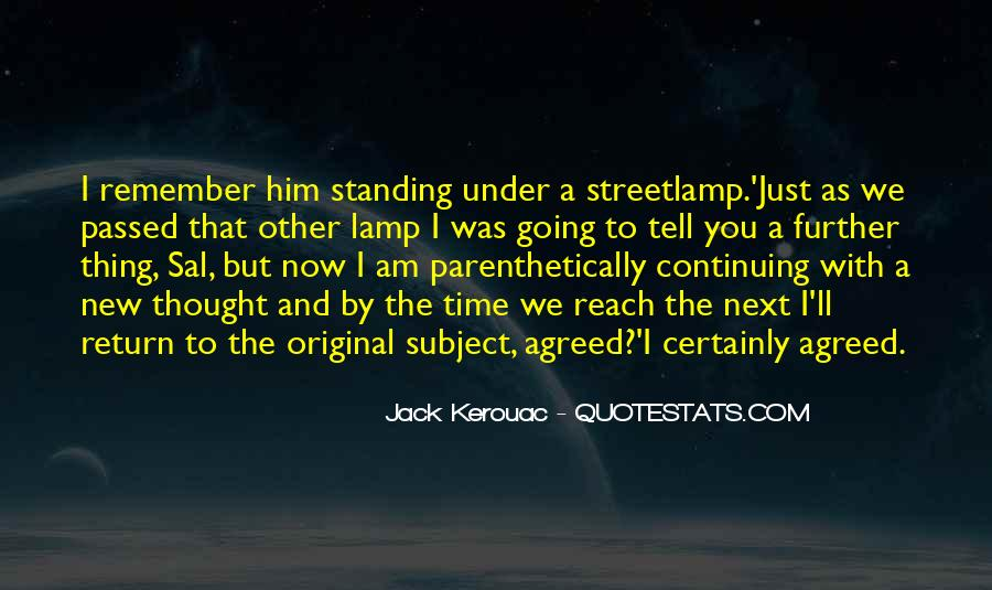 Streetlamp's Quotes #1352640