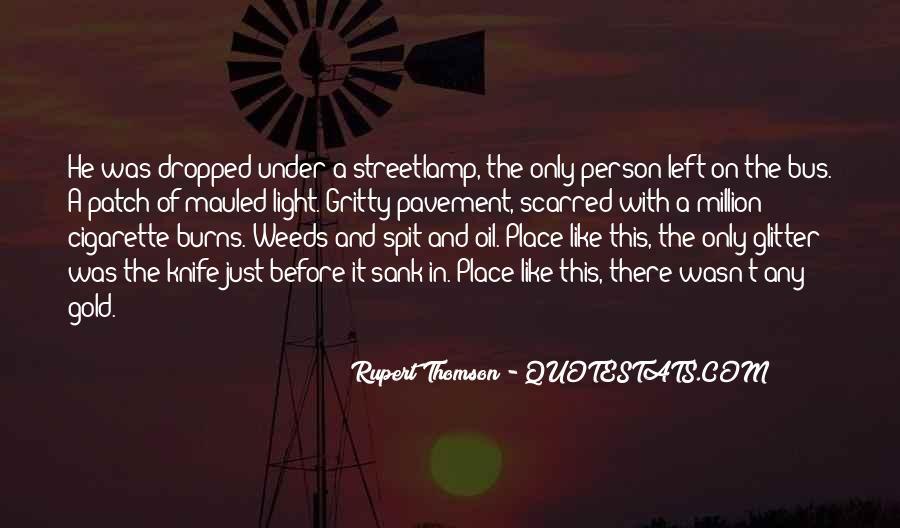 Streetlamp's Quotes #711511