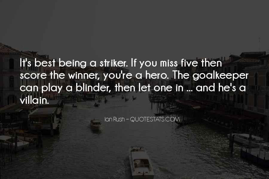 Striker Quotes #1141241