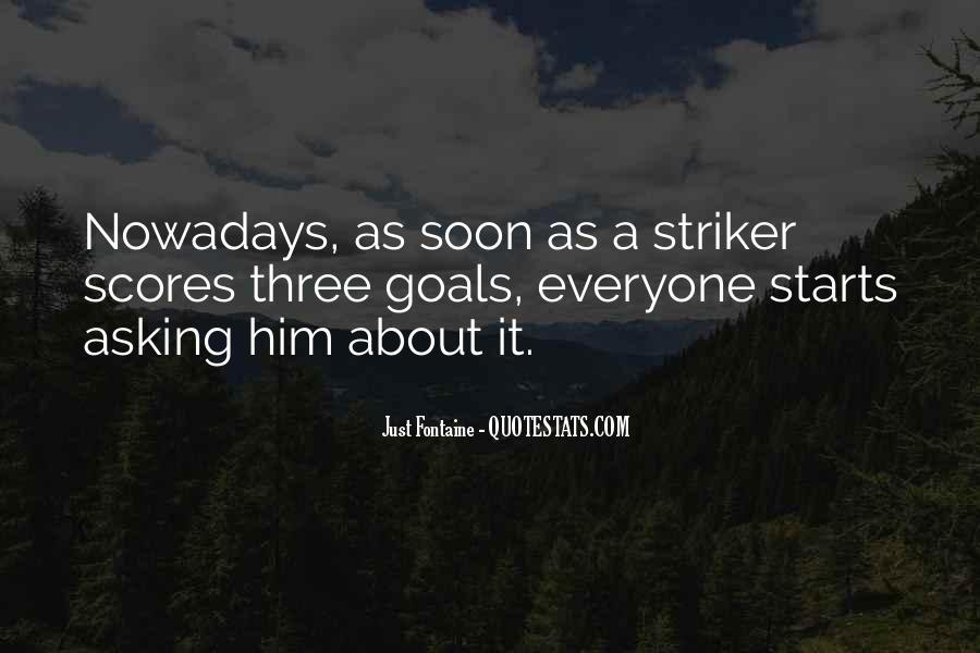 Striker Quotes #1275467