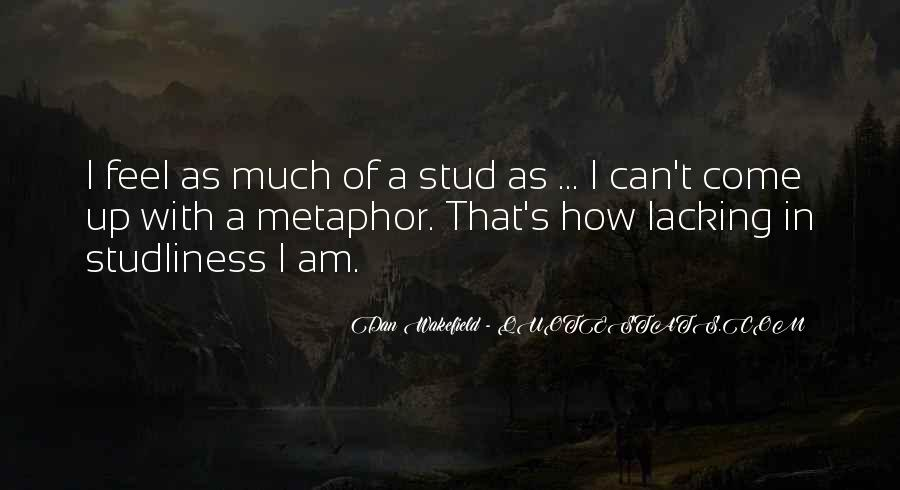 Studliness Quotes #54697