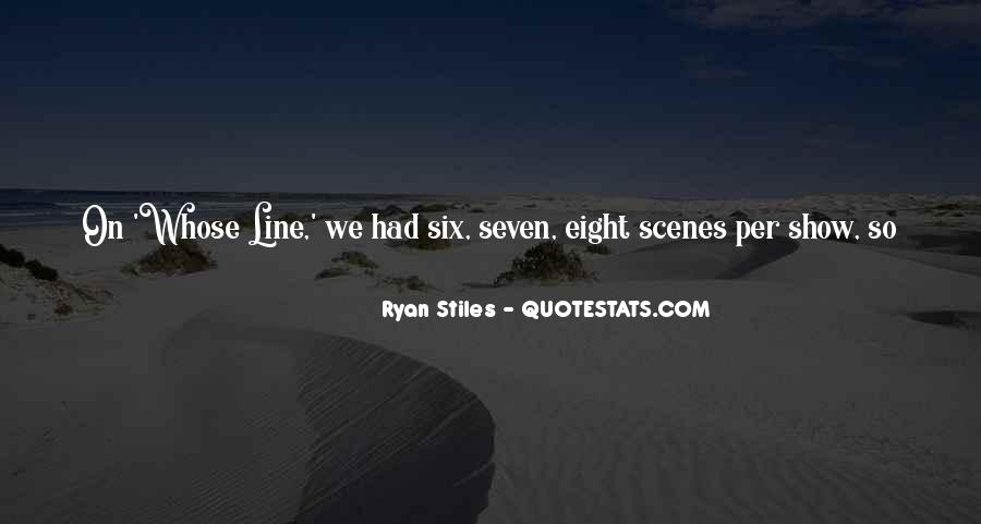 Quotes About Six #15285