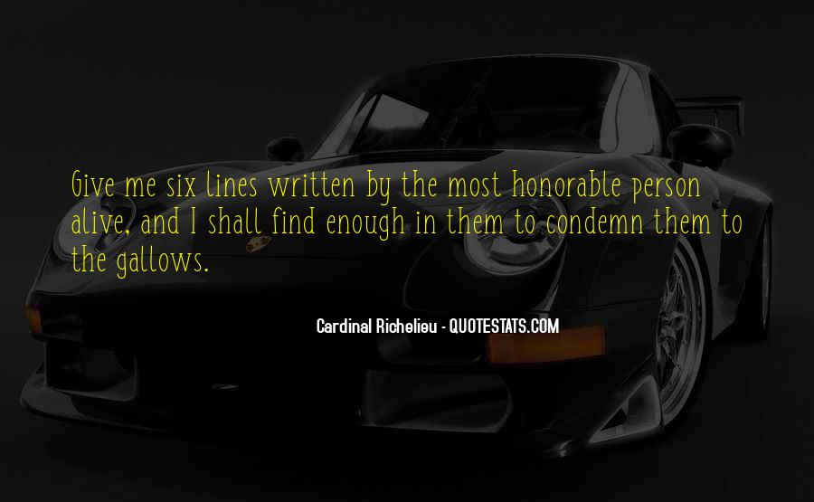 Quotes About Six #16036