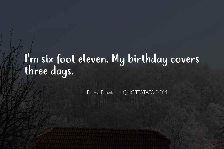Quotes About Six #19977
