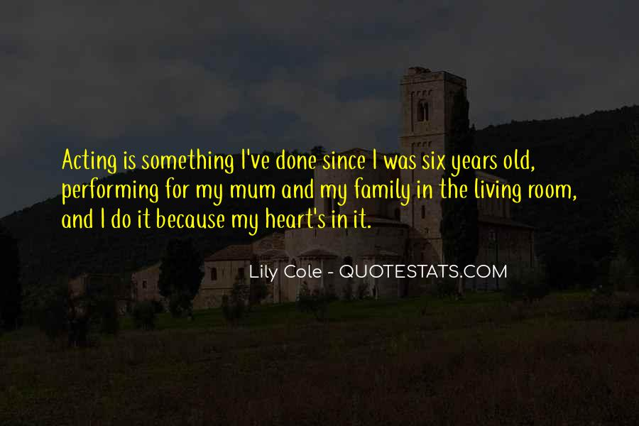 Quotes About Six #21772