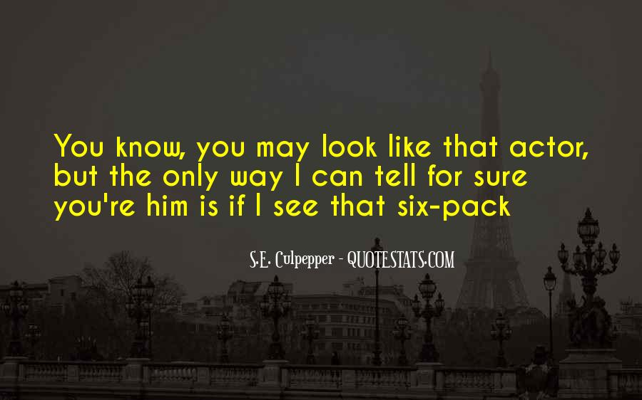 Quotes About Six #37316
