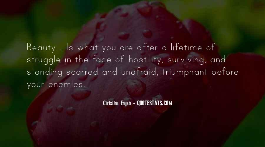 Quotes About Unafraid #170952