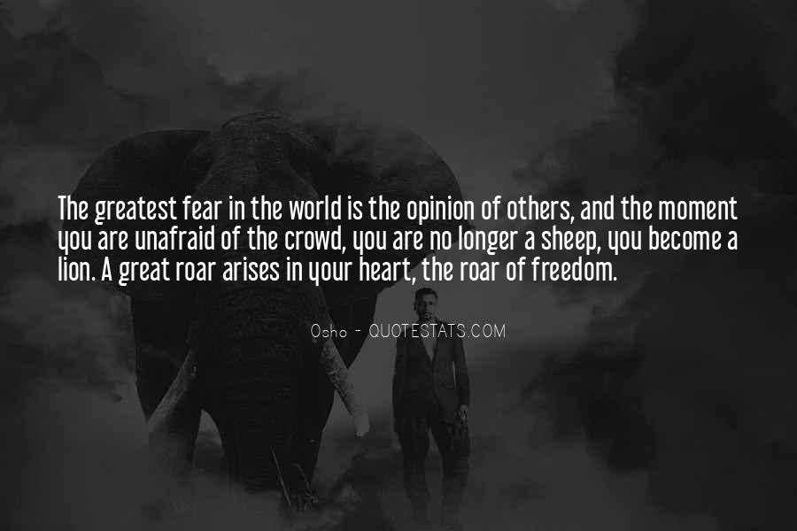 Quotes About Unafraid #205816