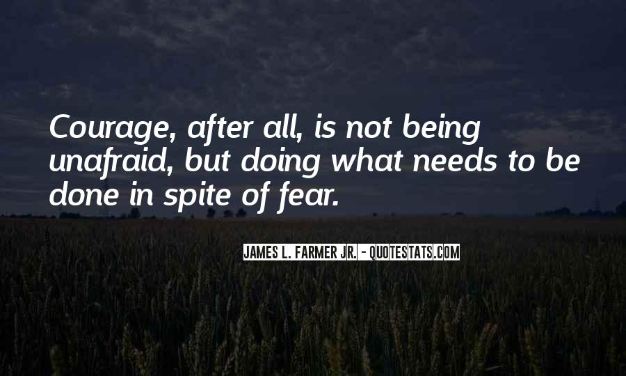 Quotes About Unafraid #472582