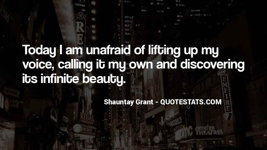 Quotes About Unafraid #790932