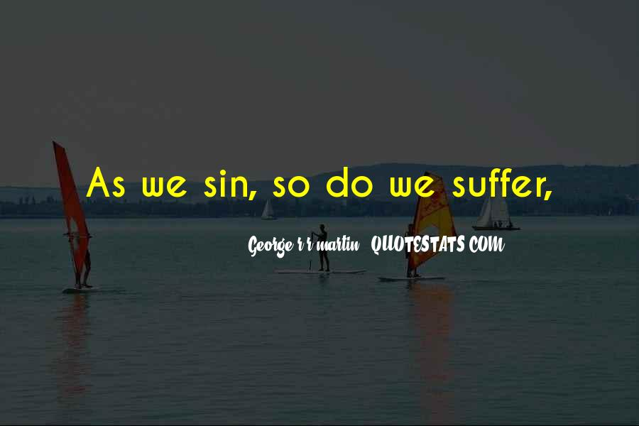 Suffer'd Quotes #16044