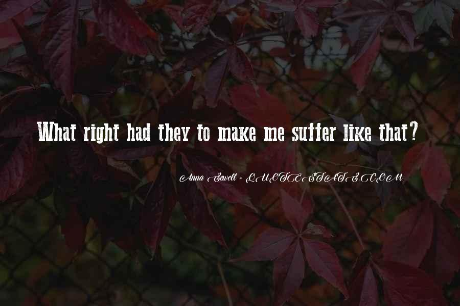 Suffer'd Quotes #46031