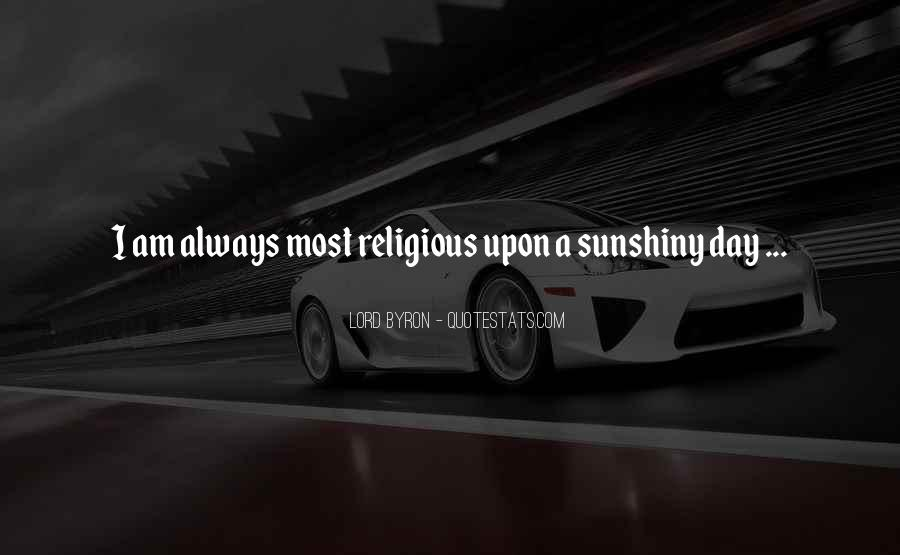 Sunshiny Quotes #10025