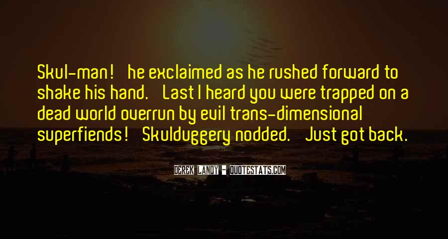 Superfiends Quotes #836275