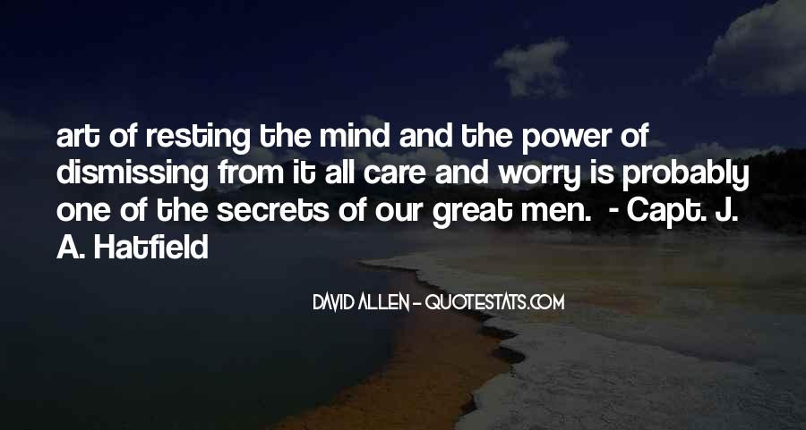 Quotes About Resting The Mind #141275