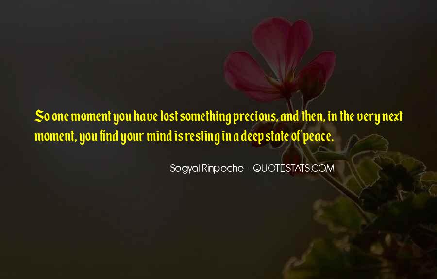 Quotes About Resting The Mind #1828852