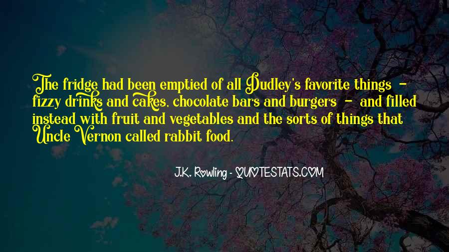 Quotes About Dudley Dursley #123646