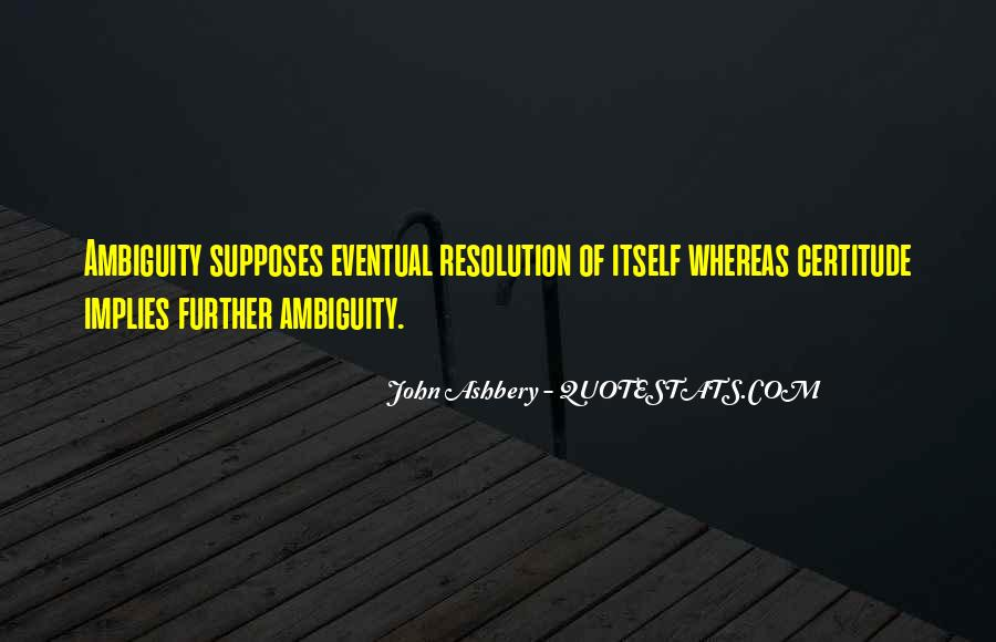 Supposes Quotes #554236