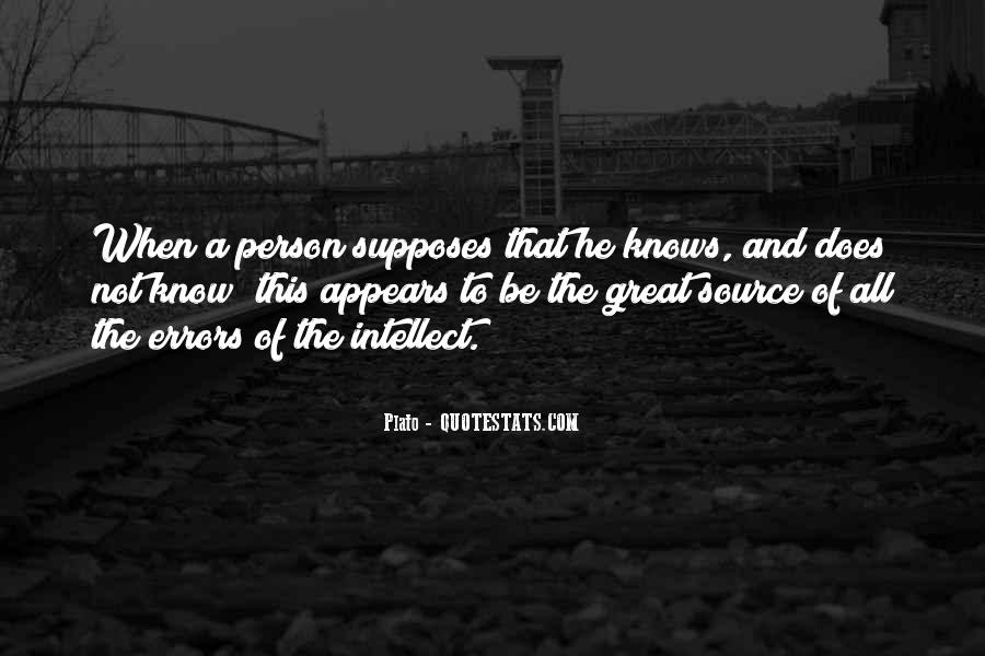 Supposes Quotes #999079