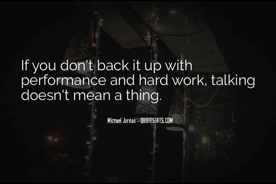 Quotes About Hard Work By Michael Jordan #553488