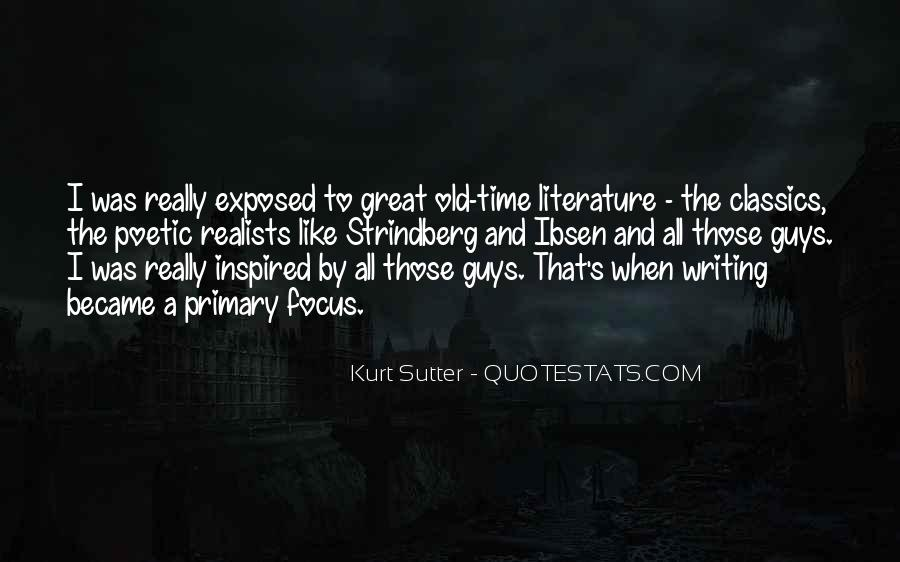 Sutter's Quotes #1448985