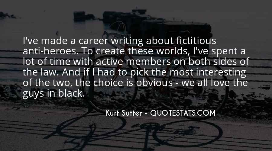 Sutter's Quotes #247279