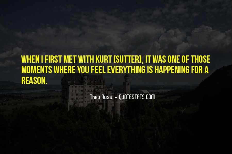 Sutter's Quotes #497236