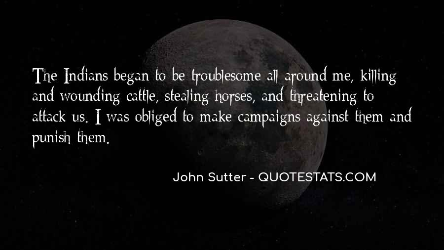Sutter's Quotes #94921