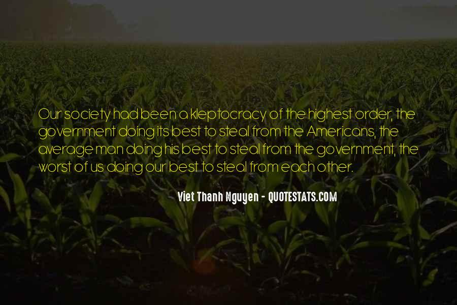 Quotes About Kleptocracy #1834391
