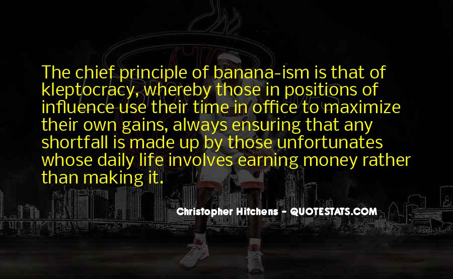Quotes About Kleptocracy #569113