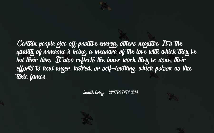 Quotes About Having Positive Energy #197156