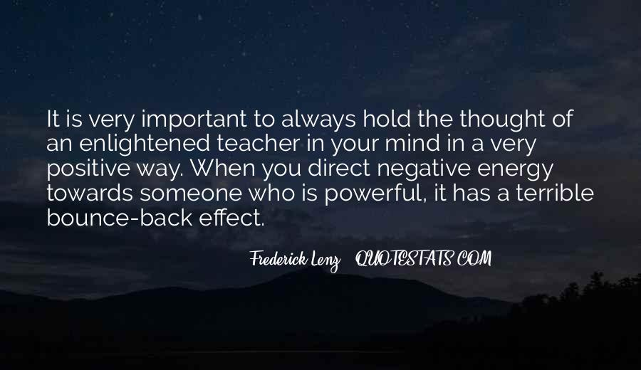 Quotes About Having Positive Energy #58840