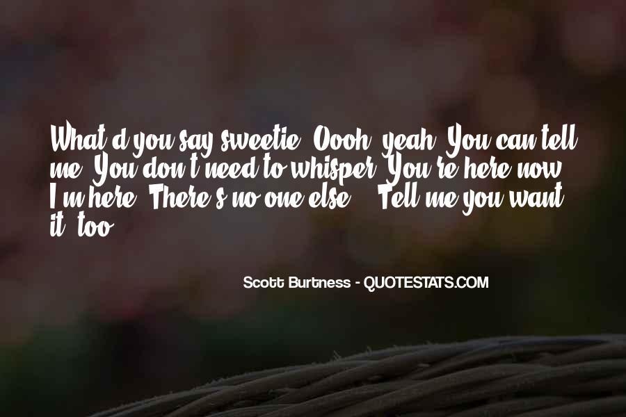 Sweetie Quotes #336727