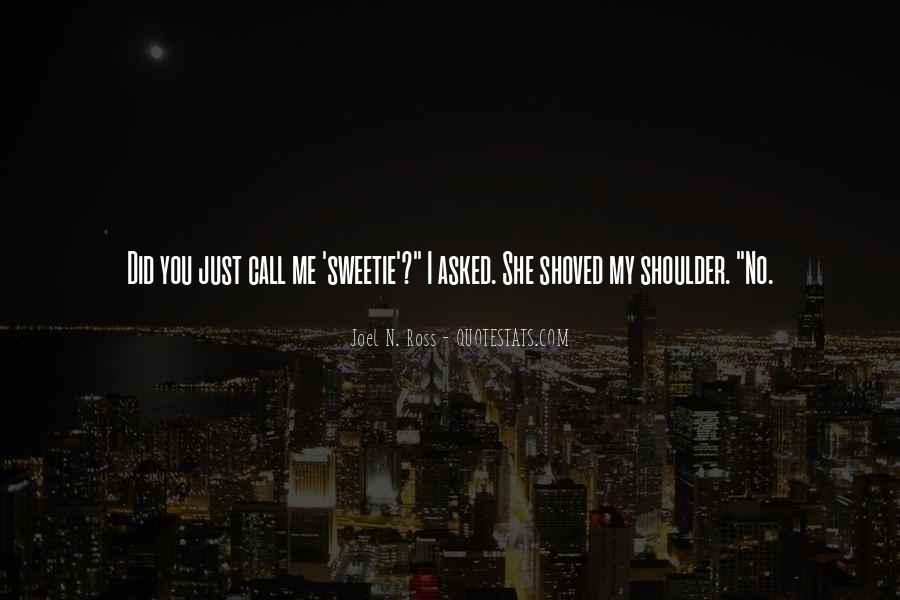 Sweetie Quotes #416189