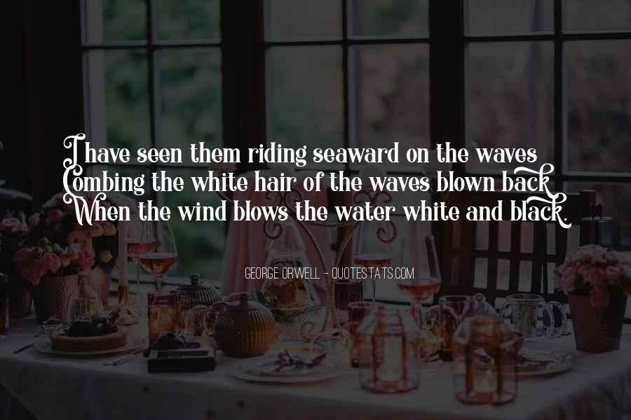 Quotes About Wind Blown Hair #1797704