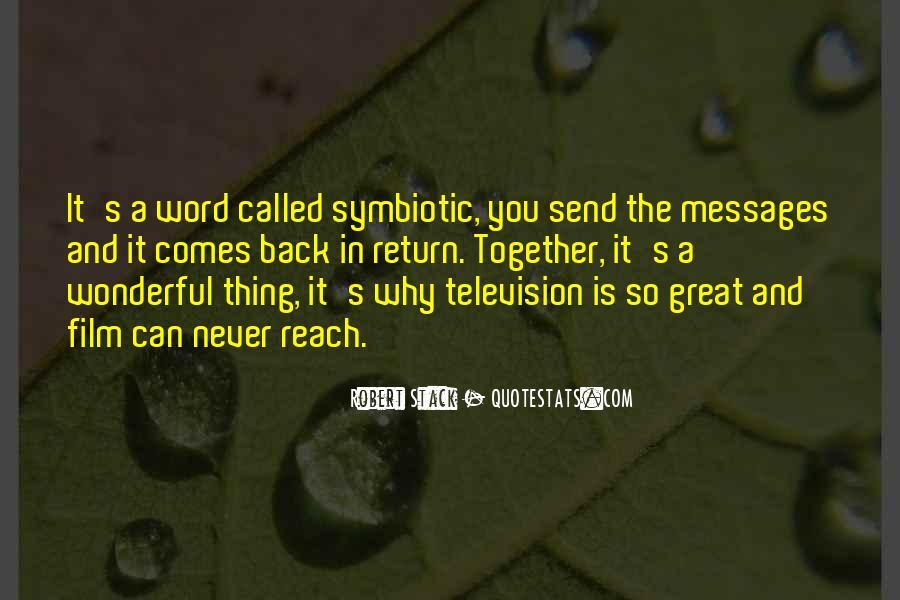 Symbiotic Quotes #1114453